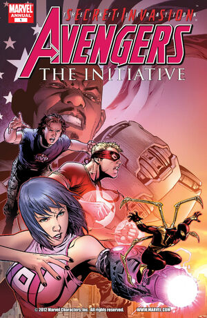 Avengers The Initiative Annual Vol 1 1