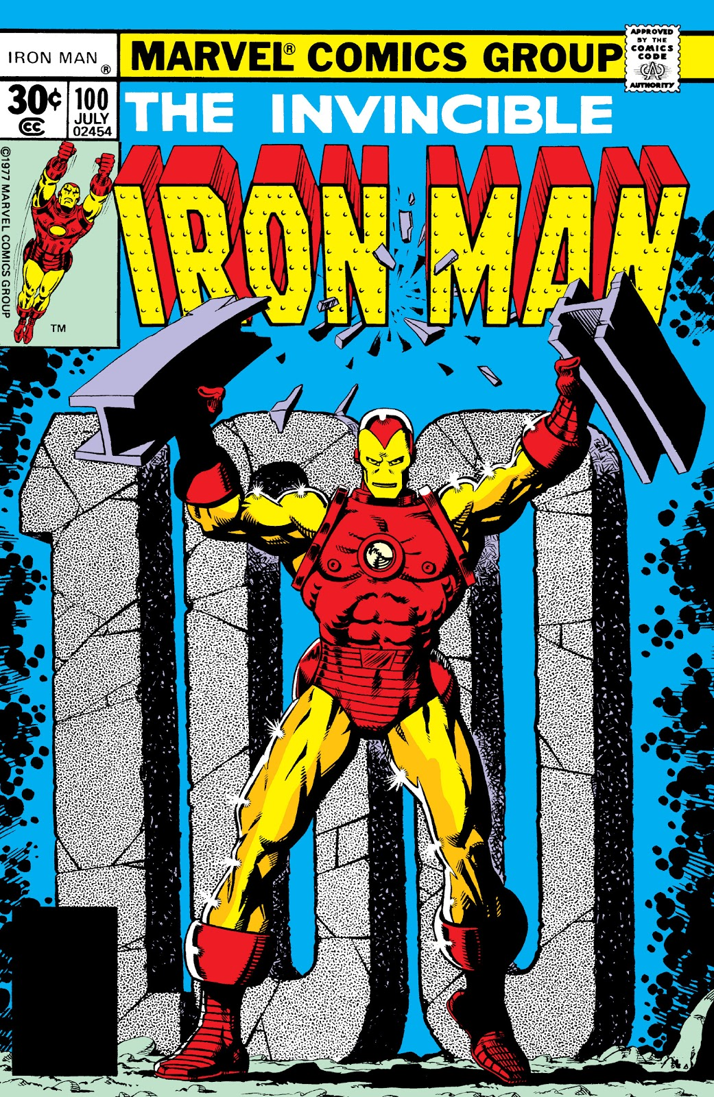 Iron man vol 1 100 marvel database fandom powered by wikia - Iron man 1 images ...