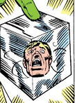 Hate-Monger trapped in the Cosmic Cube from Super-Villain Team-Up Vol 1 17