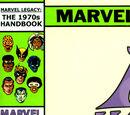 Marvel Legacy: The 1970's Handbook Vol 1 1