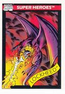 Lockheed (Earth-616) from Marvel Universe Cards Series I 0001