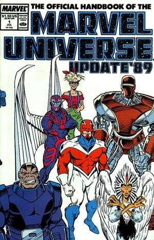 Official Handbook of the Marvel Universe Vol 3 1
