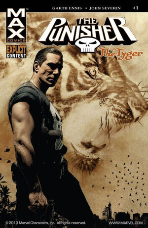 Punisher The Tyger Vol 1 1
