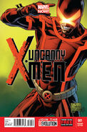Uncanny X-Men Vol 3 1 Quesada Variant