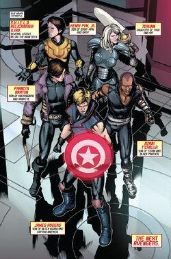 Next Avengers (Earth-10943) from Avengers World Vol 1 11