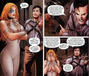 Alison Blaire (Earth-2149) and Ashley J. Williams (Earth-818793) from Marvel Zombies Vs. Army of Darkness Vol 1 2 001