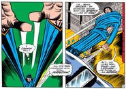 Mister Fantastic vs an android duplicate from Fantastic Four Vol 1 96