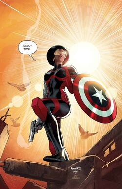 Captain America Sam Wilson Vol 1 16 Textless