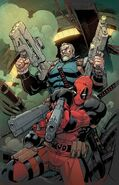 Deadpool & Cable Split Second Vol 1 1 Textless