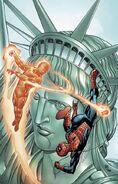 Spider-Man Human Torch Vol 1 1 Textless