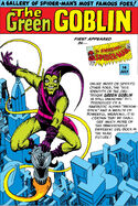 Green Goblin Pin-Up from Amazing Spider-Man Annual Vol 1 1