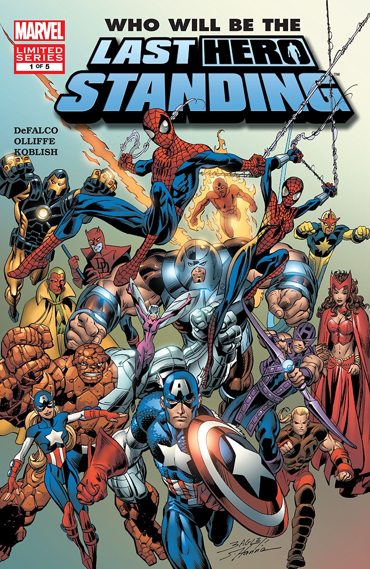Last Hero Standing Vol 1 1