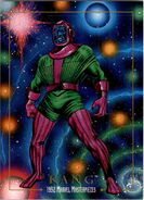 Nathaniel Richards (Kang) (Earth-6311) from Marvel Masterpieces Trading Cards 1992 0001