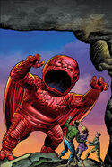 All-New, All-Different Avengers Vol 1 1 Kirby Monster Variant Textless