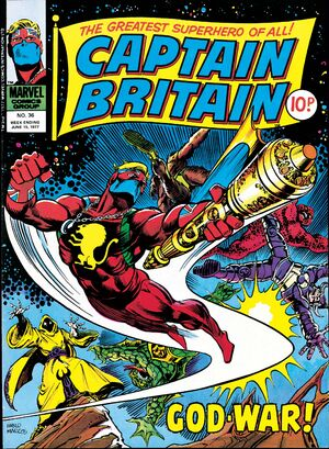 Captain Britain Vol 1 36