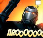 James Rhodes (Earth-97161) from Avengers vs. Pet Avengers Vol 1 2 002