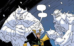 Frost Giants (Earth-717) What If Thor Vol 1 1