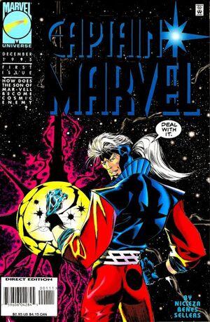 Captain Marvel Vol 3 1
