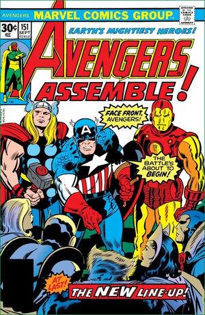 Avengers Vol 1 151