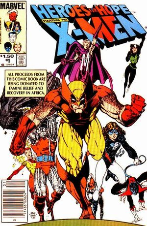 Heroes for Hope Starring the X-Men Vol 1 1