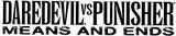 Daredevil Vs. Punisher (2005) logo