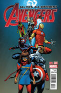 All-New, All-Different Avengers Vol 1 1 Asrar Variant