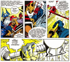 Stormbreaker from Thor Vol 1 339