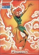 Jean Grey (Earth-616) from Marvel Legends (Trading Cards) 0003
