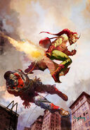 Marvel Zombies Vol 1 4 Textless Second Printing