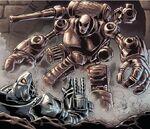 Arsenal (Robot) (Earth-90214) from Iron Man Noir Vol 1 3 0001