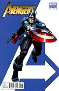 Avengers Vol 4 1 Captain America Variant