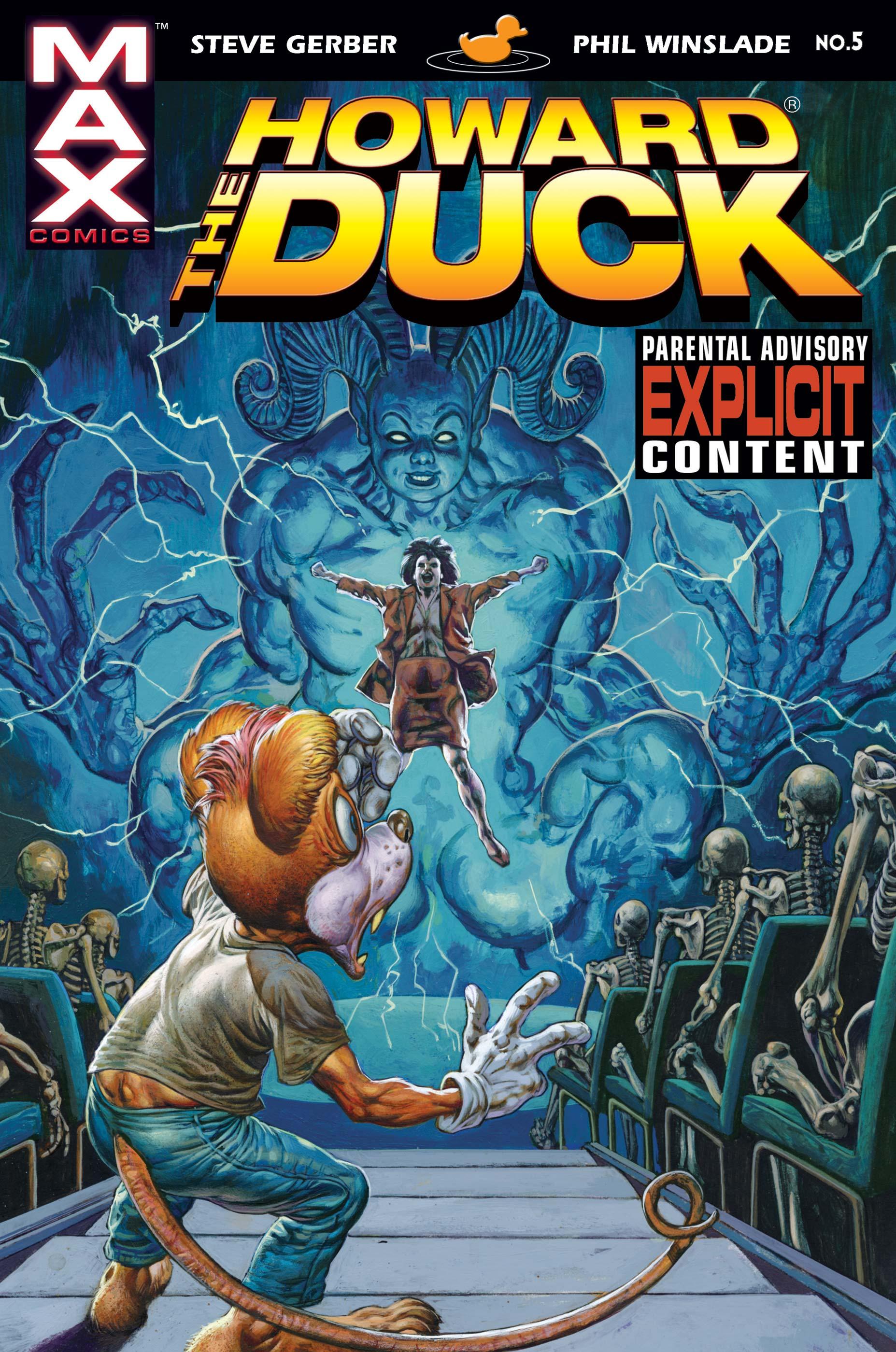 HOWARD THE DUCK # 5 : VERY FINE : SEP 1976 :MARVEL COMICS. {COMIC BOOKS}