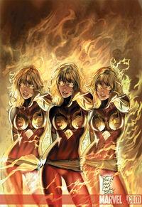 X-Men Phoenix Warsong Vol 1 5 Textless