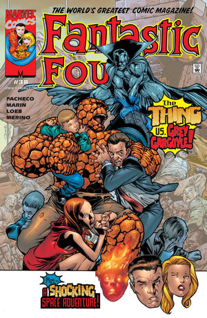 Fantastic Four Vol 3 38