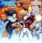 Alpha Flight (Earth-616) from Wolverine Vol 2 172 0001