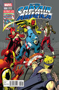 All-New Captain America Vol 1 6 One Minute Later Variant