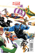 Avengers Vol 5 6 50 Years of Avengers Variant