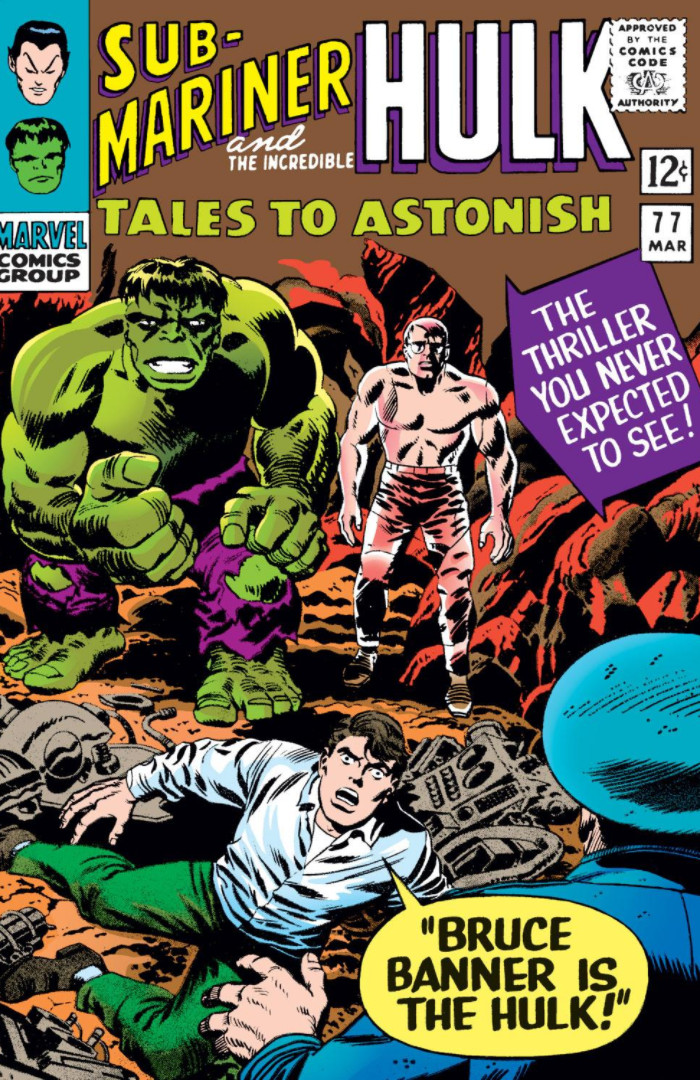 Image result for Tales to Astonish hulk secret identity revealed