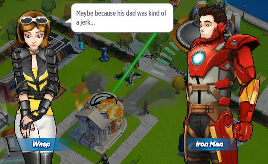 dating avengers academy