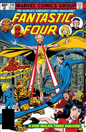 Fantastic Four Vol 1 216