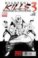 Deadpool Kills the Marvel Universe Vol 1 3 2nd Printing Variant