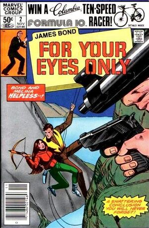 James Bond For Your Eyes Only Vol 1 2