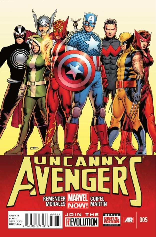 Uncanny Avengers Vol 1 5 | Marvel Database | FANDOM