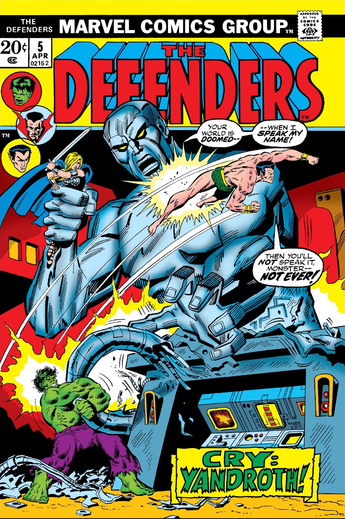 The Defenders #83. Marvel, 1980