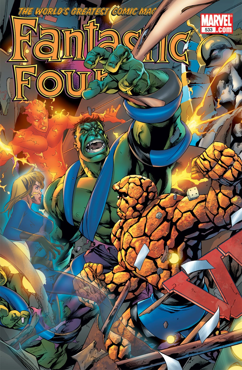 Fantastic Four Vol 1 533