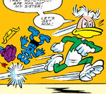 Quacksilver (Earth-8311) from Peter Porker, The Spectacular Spider-Ham Vol 1 15 0001
