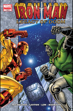 Iron Man Legacy of Doom Vol 1 1