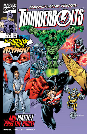 Thunderbolts Vol 1 23