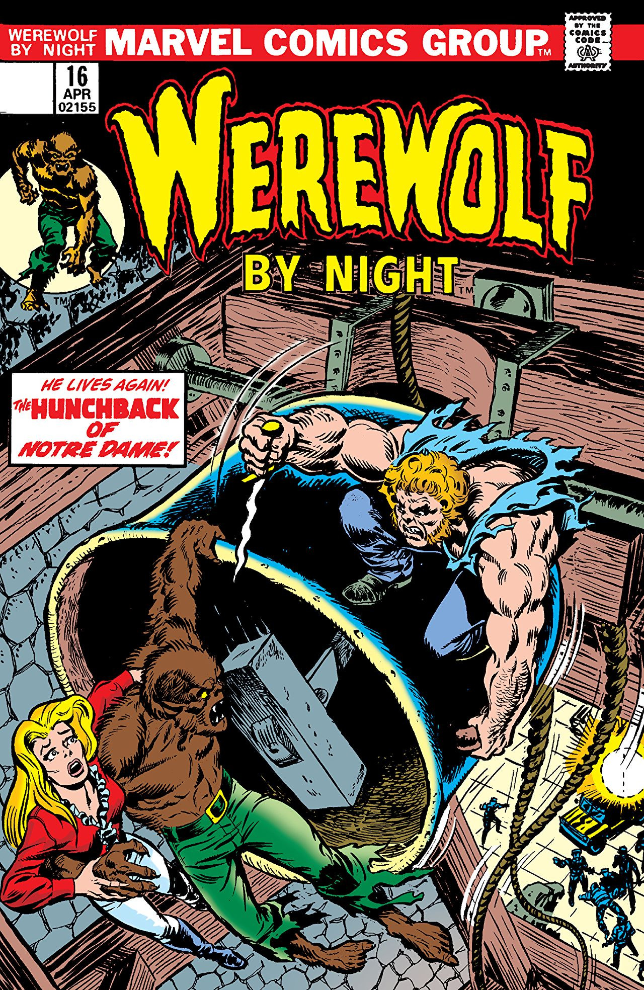 Werewolf by Night Vol 1 16 | Marvel Database | FANDOM ...