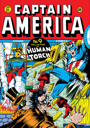 Captain America Comics Vol 1 21
